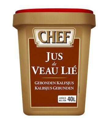 Chef jus de veau lié 1.2kg Nestlé Professional