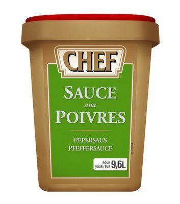Chef sauce au poivres 1080gr Nestlé Professional