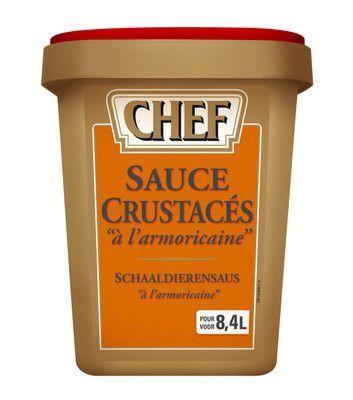 Chef sauce crustacés à l'armoricaine poudre 960gr Nestlé Professional
