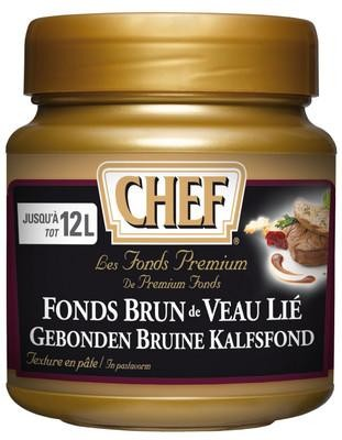 Chef Premium fonds brun de veau lié pâte 600gr Nestlé Professional
