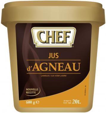 Chef jus d'Agneau 600gr Nestlé Professional