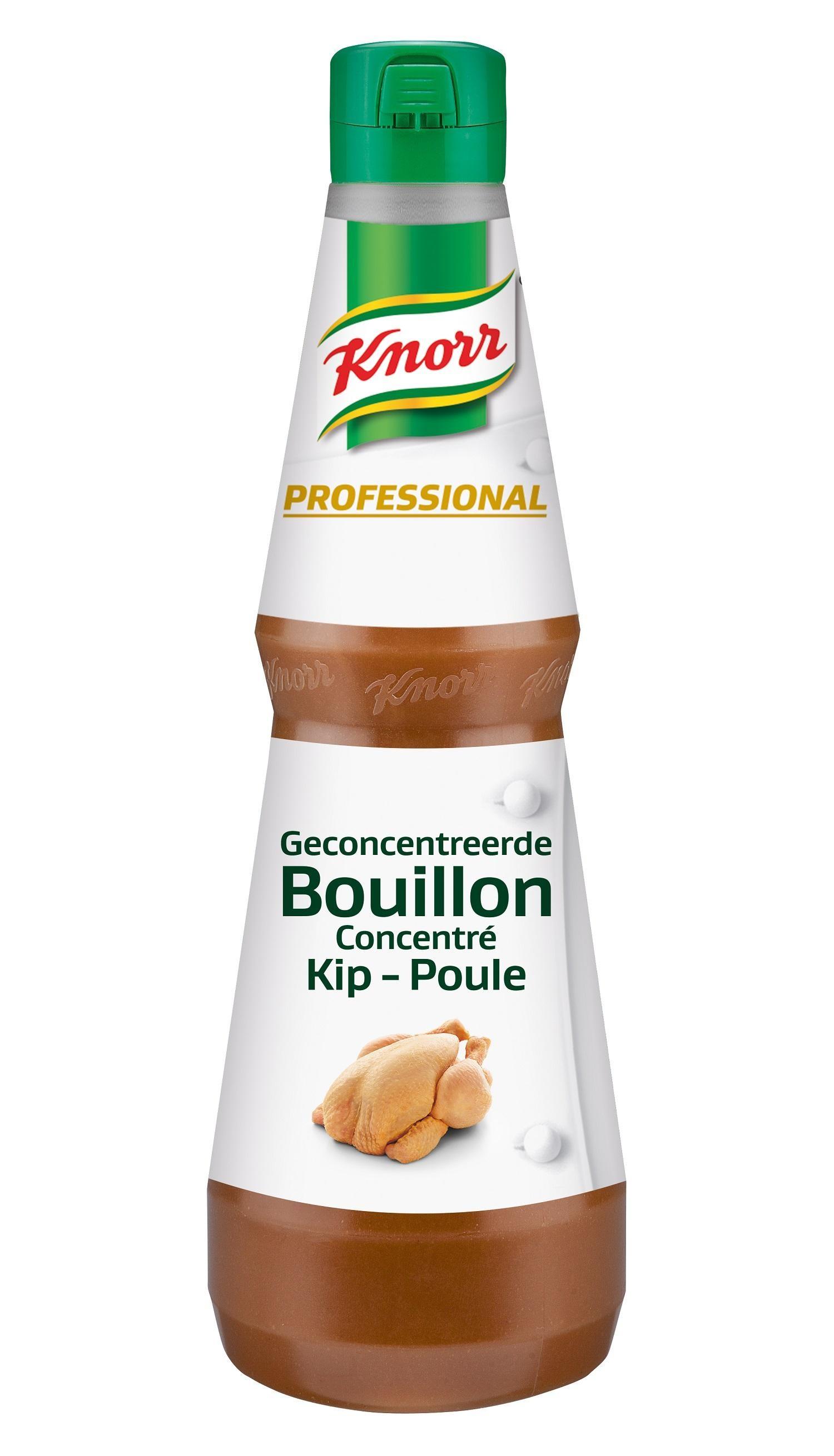Knorr Bouillon Liquide Concentré de Poulet 1L Professional