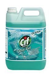 CIF Oxygel 5L nettoyant multi-usages oceanique Professional