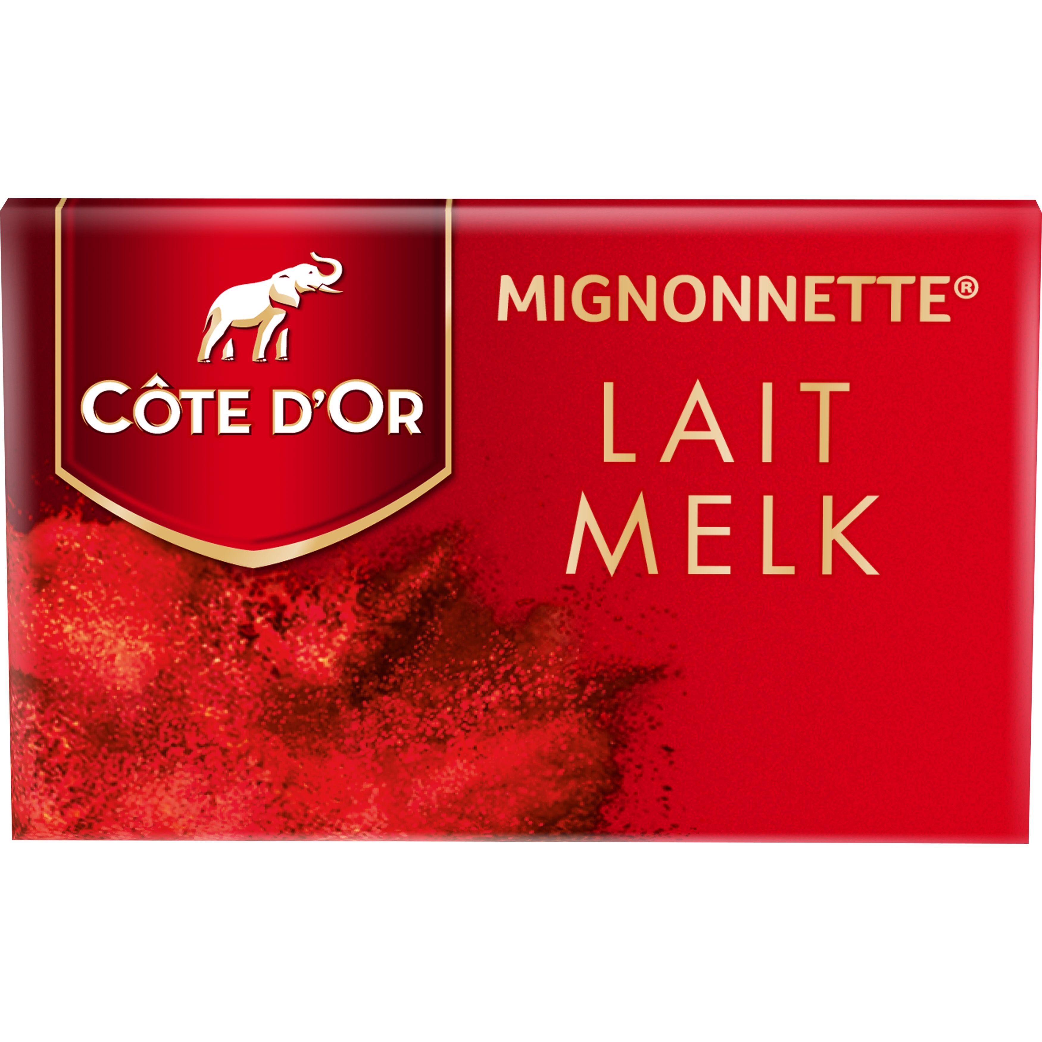 Cote d'Or Mignonettes Chocolat Lait 120pc Emballes Individuellement