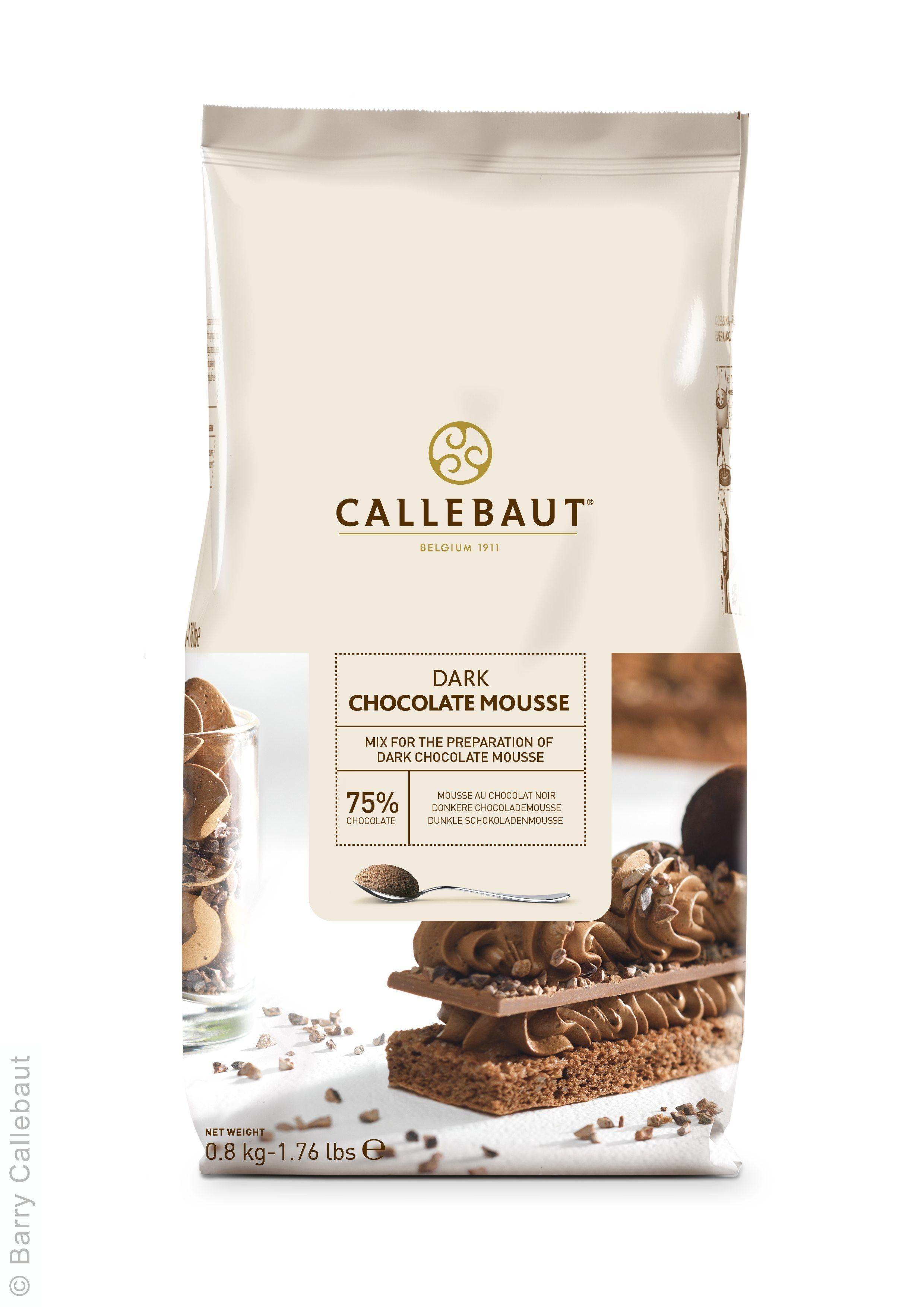Callebaut poudre de mousse au chocolat noir 800gr