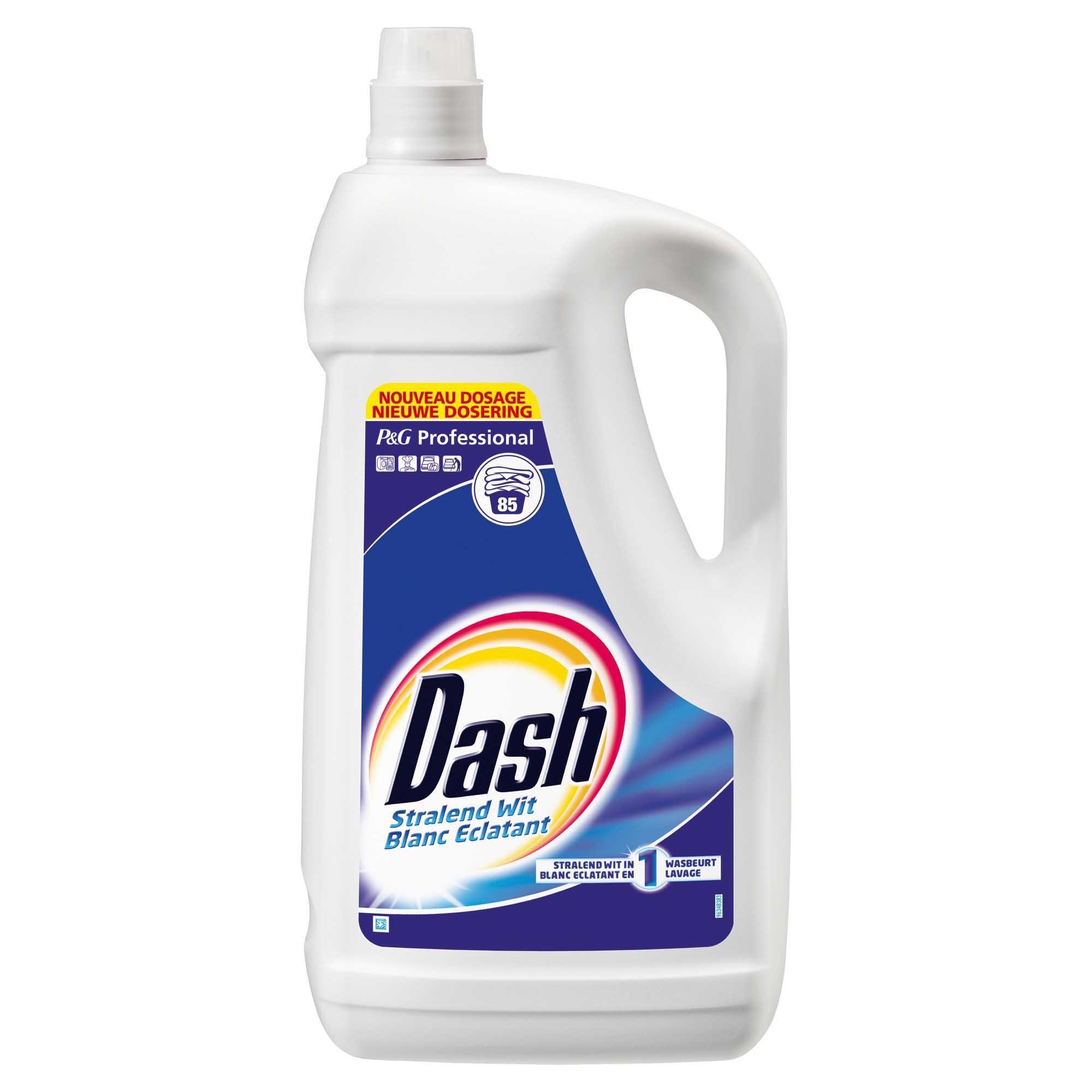 Dash 5.25L lessive liquide Procter & Gamble Professional