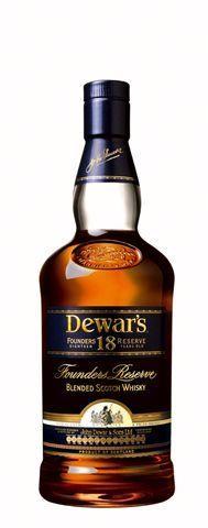 Dewar's 18 Ans d'Age Founder's Reserve 70cl 43% Blended Whisky Ecosse