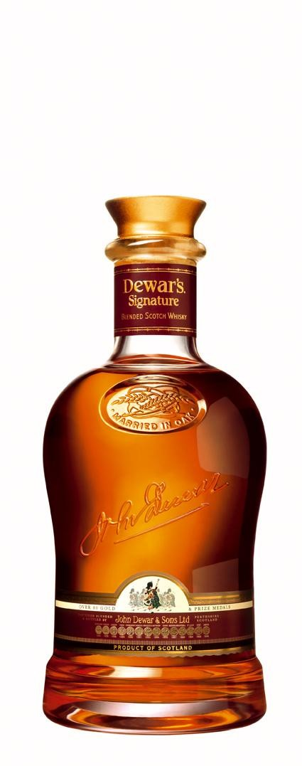 Dewar's Signature 70cl 43% Blended Scotch Whisky