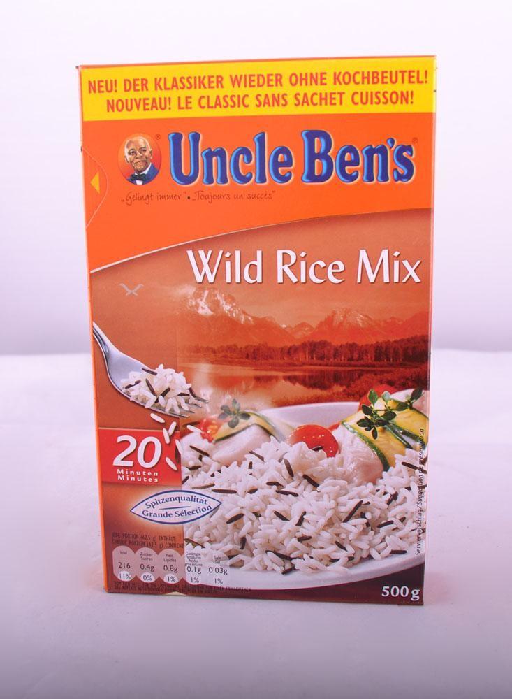 Longkorrel + Wilde rijstmix 500g Uncle Ben's