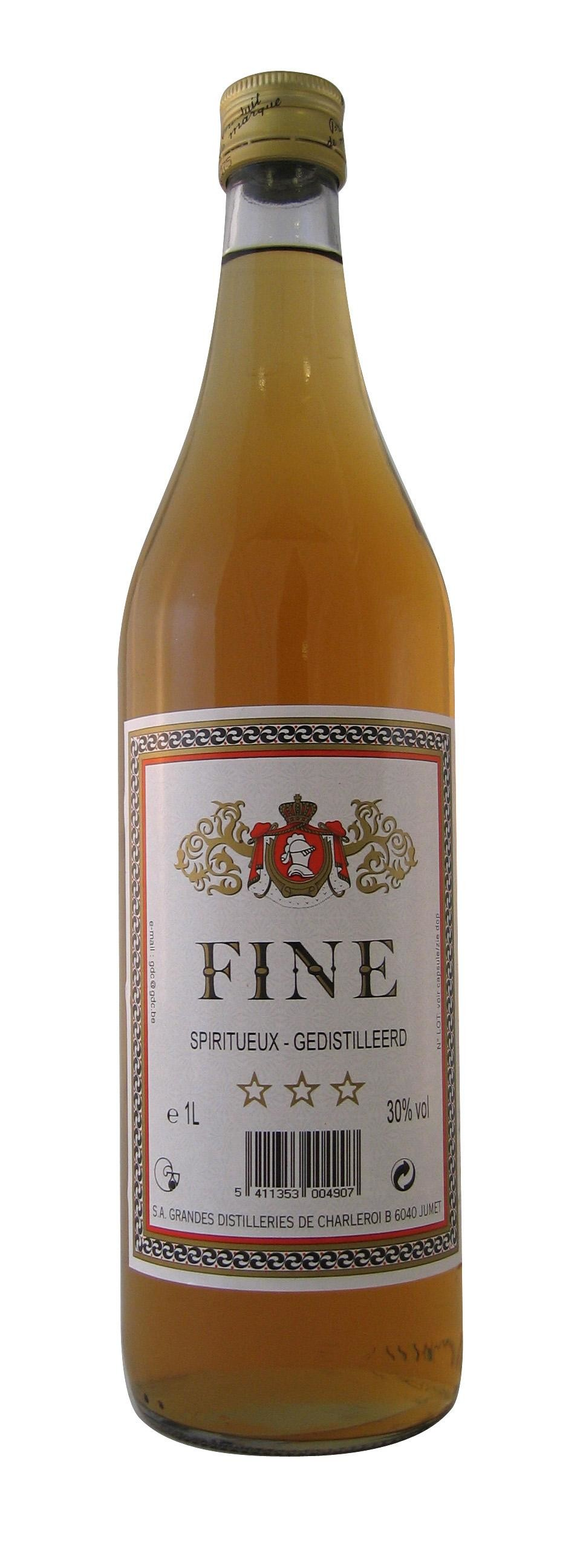 Cognac cuisine Fine 1L 30% Brandy