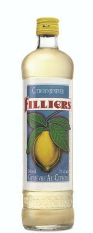 Genièvre Filliers citron 1L 20%