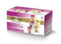Thé Twinings Fruit Selection 25pc assortiment