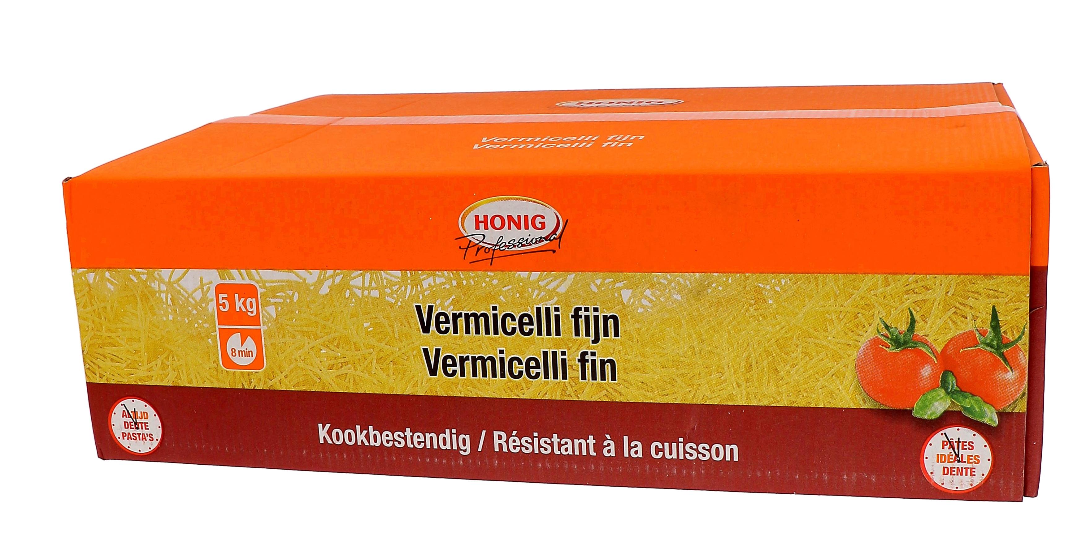 Honig pates vermicelles cheveux d'anges 5kg Professional