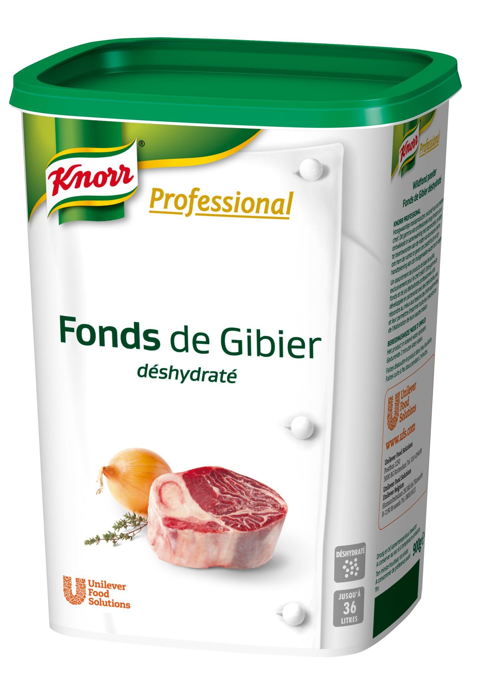 Knorr Carte Blanche fond de gibier en poudre 900gr déshydraté