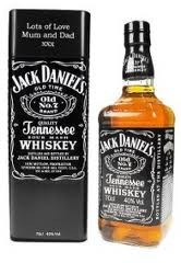 Jack Daniel's 70cl 43% Tennesee Whiskey Tin Can