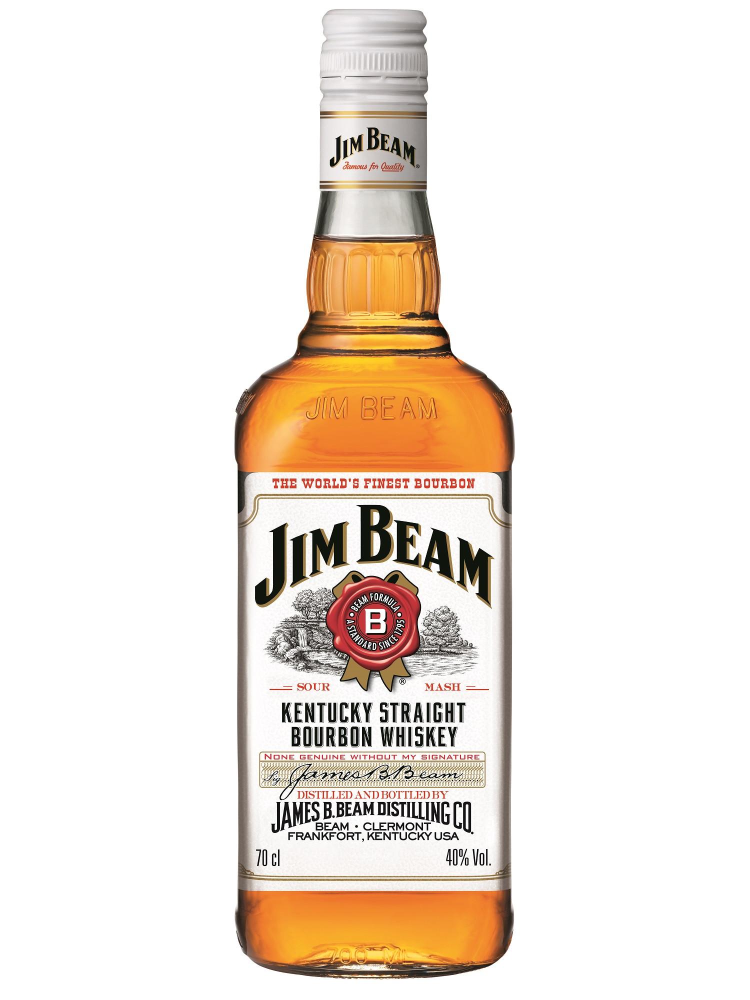 Jim Beam 70cl 40% Kentucky Bourbon Whiskey