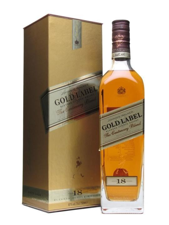 Johnnie Walker Gold Label 18 ans 70cl 40% Blended Whisky Ecosse