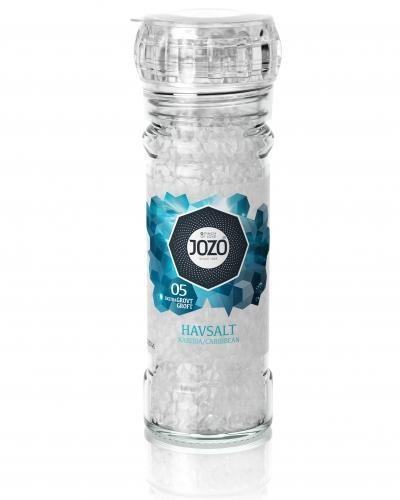 Moulin de haute qualité à remplir sel de mer 100gr Jozo