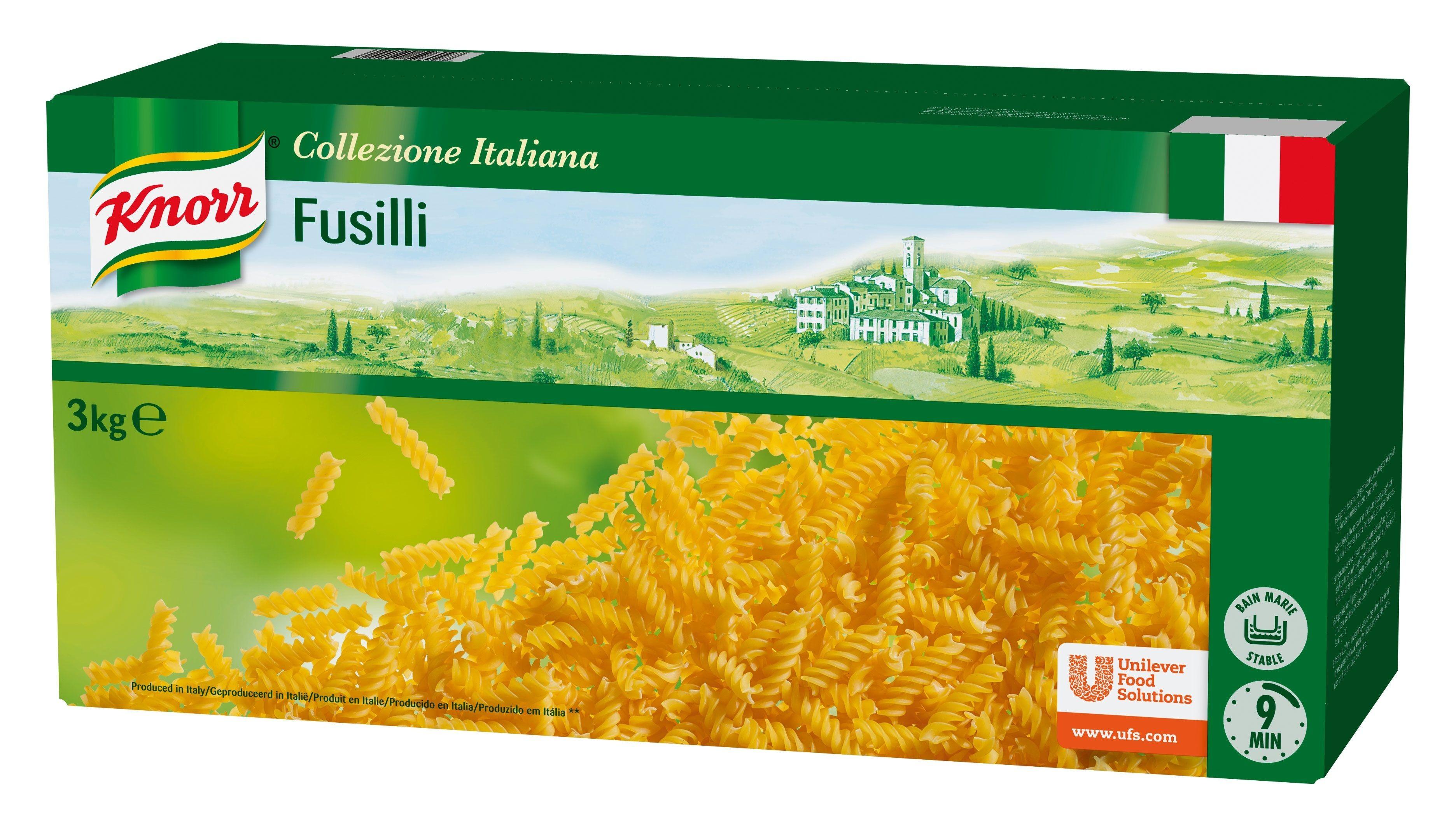 Knorr pates Fusilli 3kg Collezione Italiana