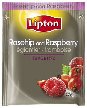 Thé Lipton eglantier-framboise 25pc