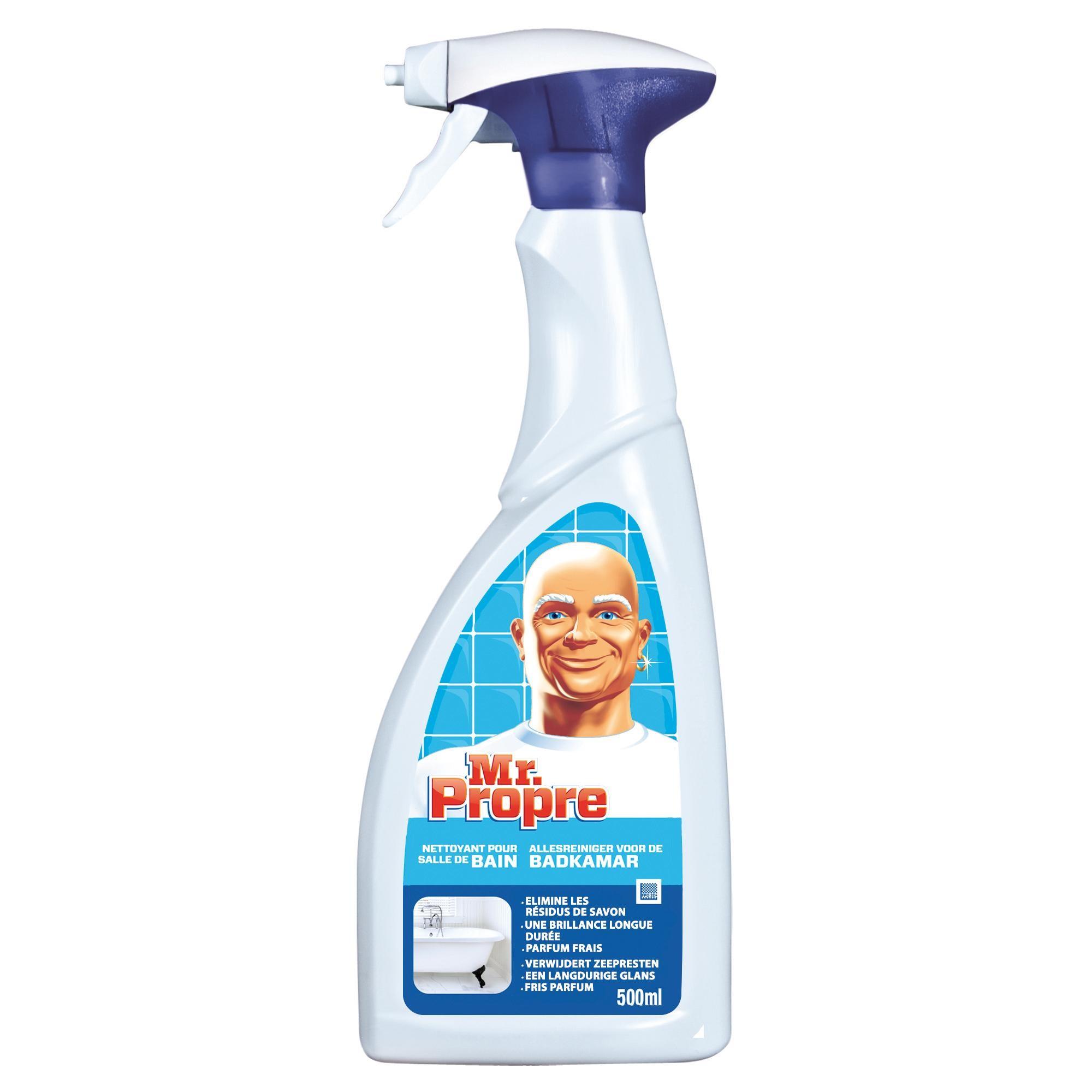Mr.Propre Salle de Bain 500ml nettoyant multi-usages en spray