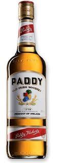 Paddy 70cl 40% Whiskey Irlandais