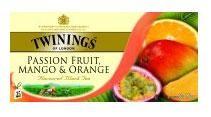 Thé Twinings Passion, Mango & Orange 25pc