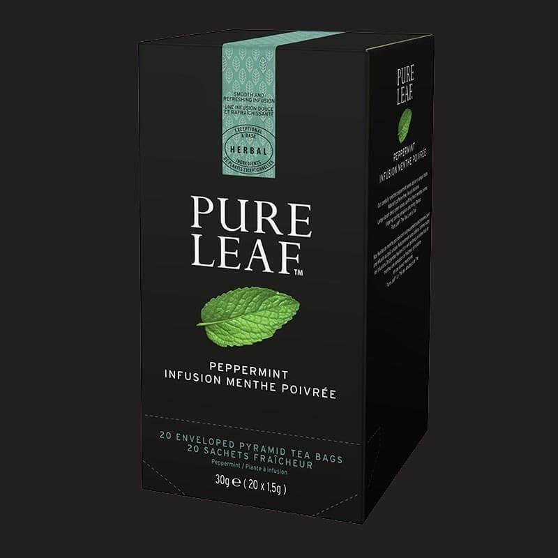 Pure Leaf Thé Infusion Menthe Poivree 20 sachets