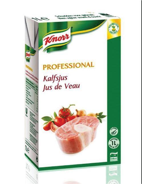 Knorr Professional jus de veau liquide 1L brick