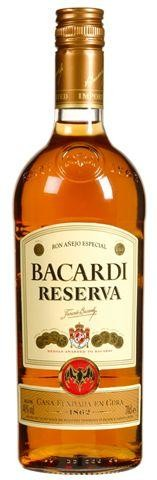 Rhum Bacardi Reserva 1L 40%