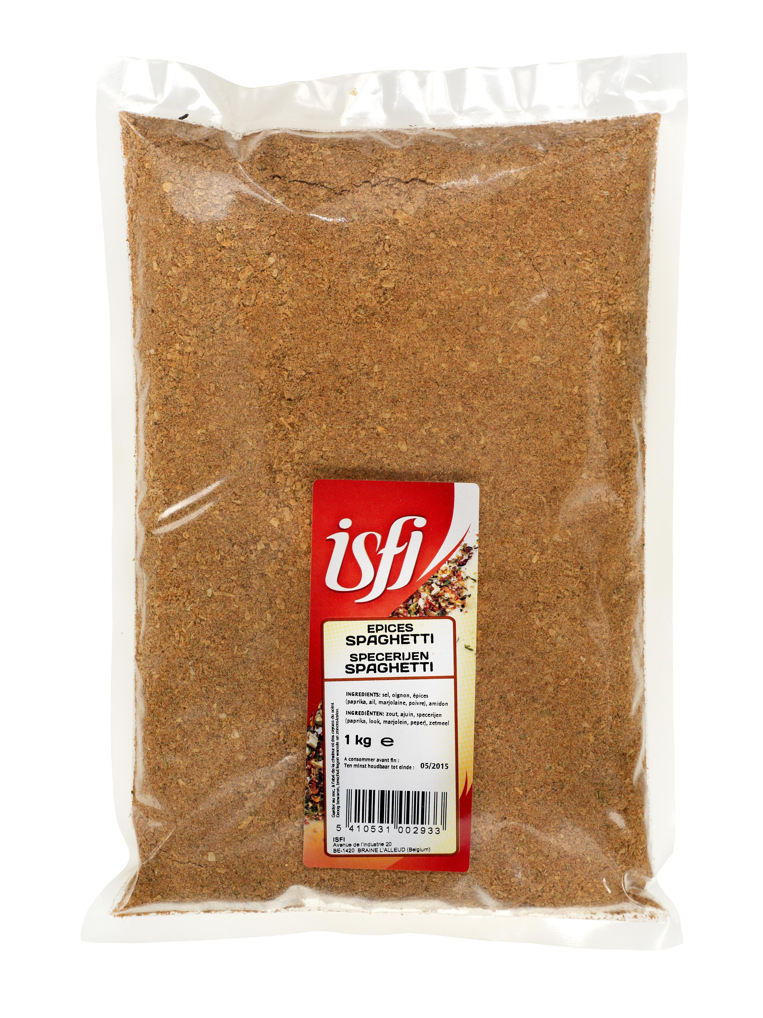 Epices pour spaghetti 1kg Isfi Spices