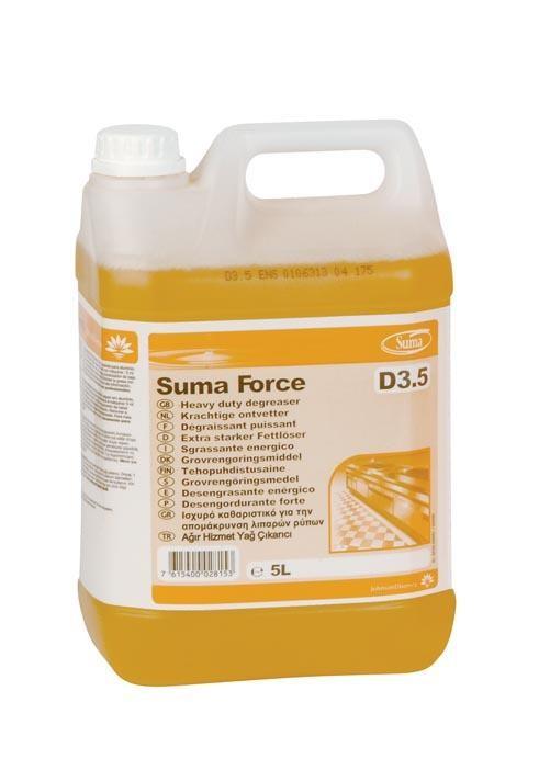 Suma Force D3.5 5L degraissant forte Johnson Diversey