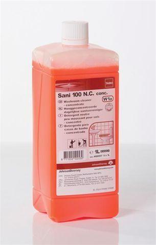 Taski Sani 100 1L Détergent neutre pour sanitaires Diversey