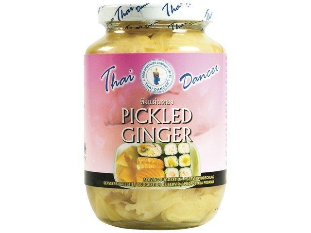 Gemberschijfjes op azijn Pickled Ginger 454gr Thai Dancer