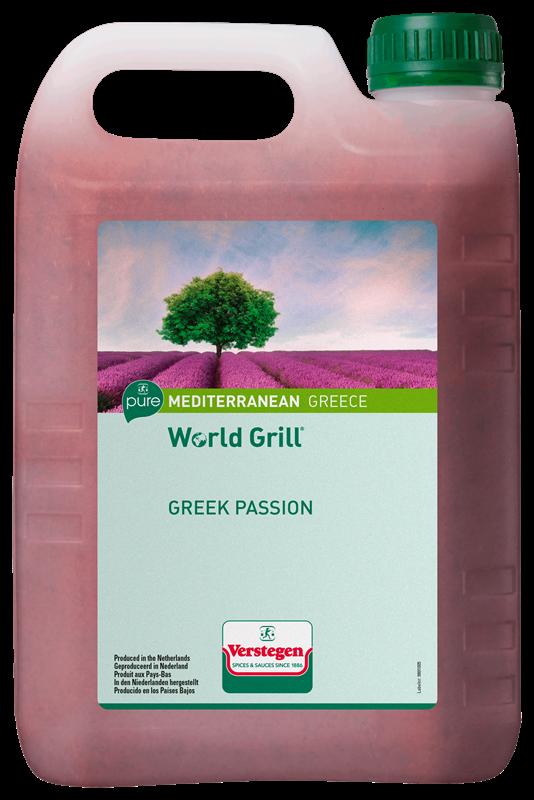 Verstegen World Grill Greek Passion 2.5L Pure