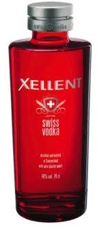 Vodka Xellent 70cl 40% Suisse