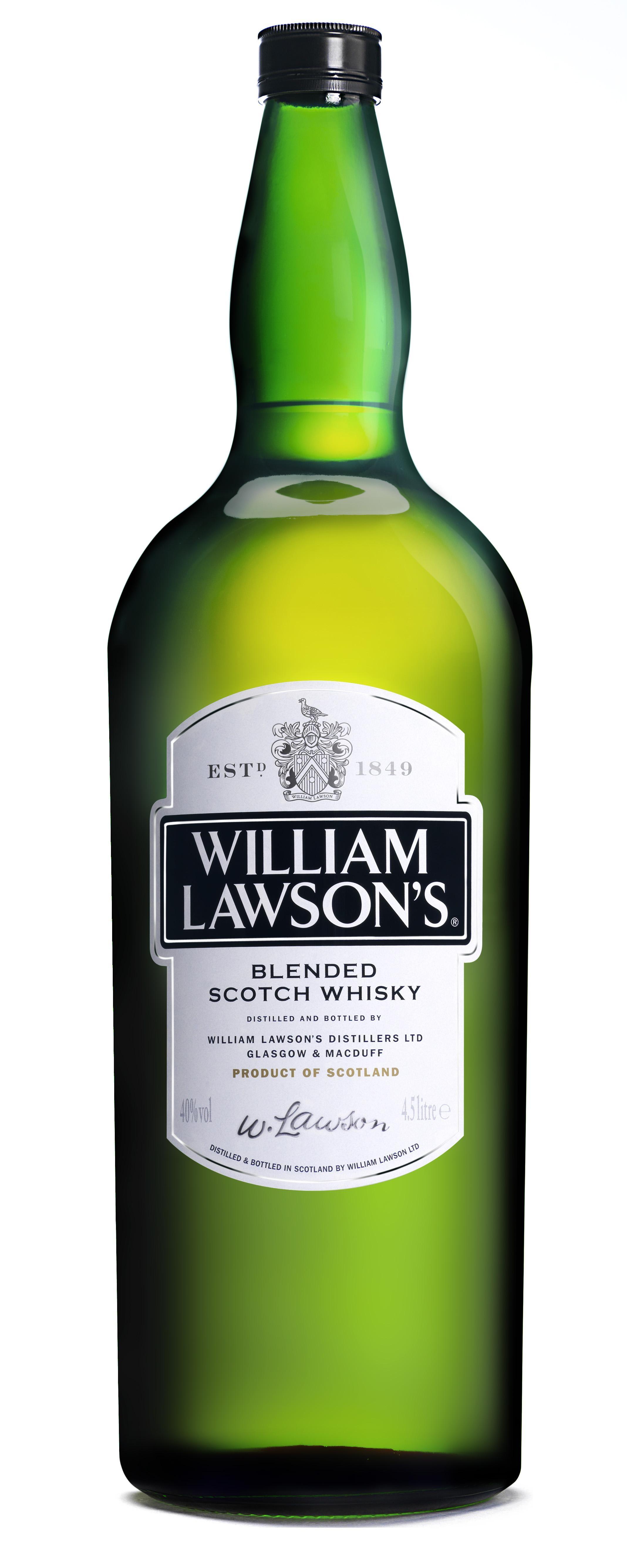 William Lawson's 4.5L 40% Blended Whisky Ecosse