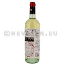Des-Lyres de Bertinerie wit 75cl Blaye Cotes de Bordeaux