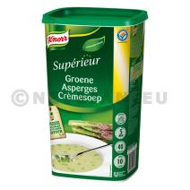 Knorr soep groene aspergecreme 1x0.9kg Professiona