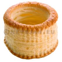 Pidy Vol-au-Vent 8cm Pate Feuilletée 72pc Chapeau Fixe