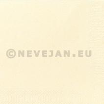 Serviette en papier champagne 2-couches 40x40cm 125pc Duni