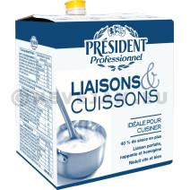 President Professionel Creme Liaisons & Cuissons UHT 10L 18% BIB