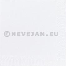 Serviettes en papier blanc 2-couches 24x24cm 300pc Duni 314008