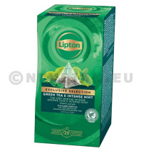 Lipton Thé Vert Menthe Intense EXCLUSIVE SELECTION 25pc