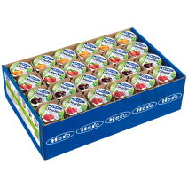 Hero Stevia confiture assortiment 120x25gr Portions Individuelles