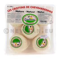Fromage de Chevre Crottin Ardenne 10x100gr portions