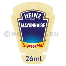 Heinz Mayonnaise Squeez Me Portions 70x26ml (Sauzen)