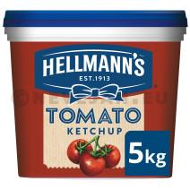 Hellmann's tomato ketchup 5kg seau