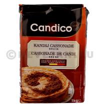 Candico Cassonade de candi brune foncé 1kg (Suiker)