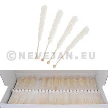 Rock Candy sucre blanc candi en batonnets 100pc Candico (Suiker)